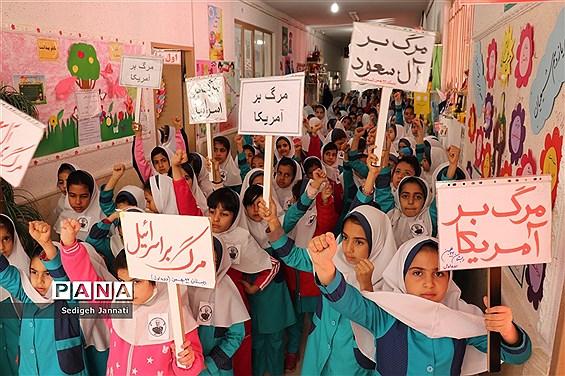 سوگواره سردار دلها در مدارس آباده