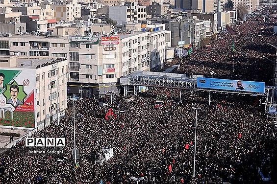 تشییع پیکر شهدای مقاومت در تهران-4