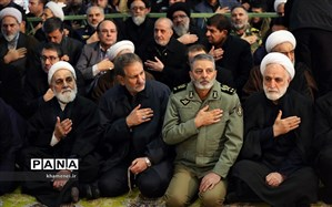 مسئولان کشوری و لشکری در تشییع پیکر شهید سپهبد سلیمانی