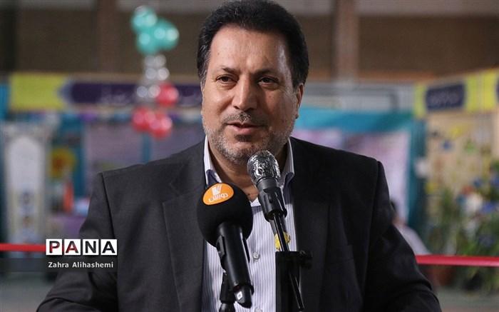 افتتاح نمایشگاه دستسازههای دانشآموزان با نیازهای ویژه شهر تهران