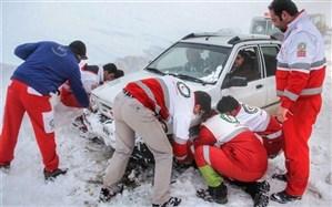 امدادرسانی به ۲۵۶۱۰ نفر در کولاک و برف