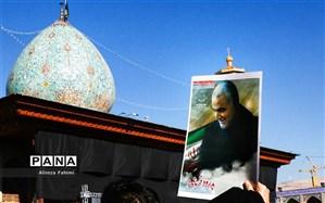 کتابخانه عمومی شهر مبارک آباد به نام «سردار شهید قاسم سلیمانی» نامگذاری شد