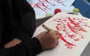 عشق به حاج قاسم سلیمانی، قلم خوشنویسان کردستانی را به صدا درآورد