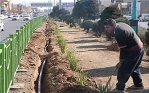 حذف آب شرب از شبکه آبیاری فضای سبز در یزد