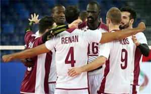 انتخابی والیبال المپیک؛ قطر شگفتی بزرگ را خلق کرد