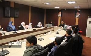 نشست هم اندیشی روسای  شورای دانش آموزی مدارس ابتدایی منطقه 13