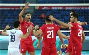 انتخابی والیبال المپیک؛  صعود ایران به نیمه نهایی قطعی شد