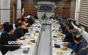 جلسه شورای معاونین اداره کل در منطقه 19
