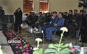 سوگواره فرهنگیان مازندران به یاد سردار سلیمانی