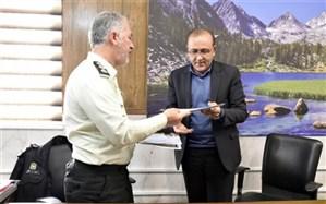 امضای تفاهمنامه پلیس مواد مخدر با اداره تعاون، کار و رفاه اجتماعی یزد