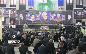 مراسم بزرگداشت سپهبد شهید حاج قاسم سلیمانی و سردار شهید پور جعفری