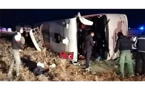فوت ۱۹ نفر بر اثر واژگونی اتوبوس تهران-کلاله