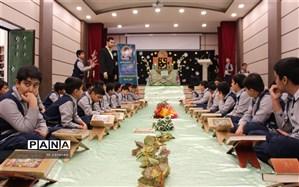 برگزاری محفل انس با قرآن کریم در دبستان شهید مرحمتی