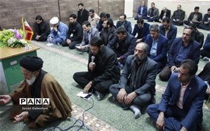 آئین یادبود شهید سردار سلیمانی در مروست برگزار شد