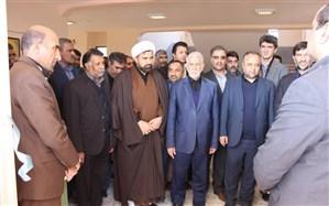 افتتاح مجتمع آموزشی 12 کلاسه شادروان حافظی در شهرستان نیمروز