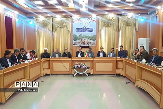 جلسه ستاد مدیریت بحران  شهرستان  دشتستان
