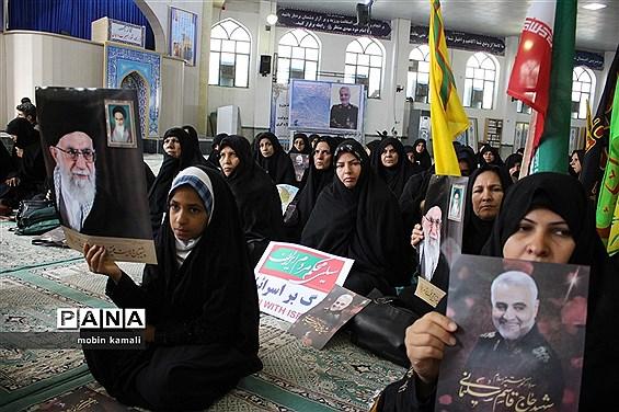 مراسم یادبود سپهبد شهید حاج قاسم سلیمانی در مصلی قدس زاهدان