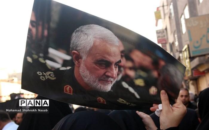 تشییع با شکوه پیکر سردار شهید سلیمانی در اهواز-2