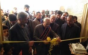 افتتاح 2 پروژه آموزشی وپرورشی در شهرستان زهک با 18 کلاس درس
