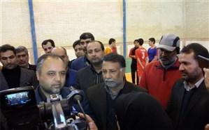 سالن ورزشی طالقانی شهرستان زابل با اعتباری بالغ بر900 میلیون تومان افتتاح شد