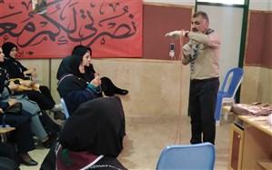 برگزاری آموزش های ضمن خدمت مربیان پیشتاز ناحیه 1 شیراز