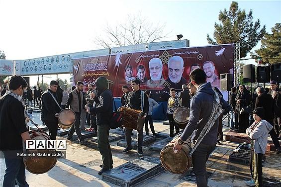 تجمع و عزاداری هیات مذهبی شهرستان اسلامشهر