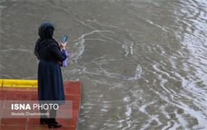 طغیان رودخانه مسیر جاسک به بشاگرد را مسدود کرد