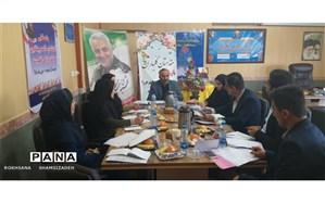 برگزاری جلسه قطبی مناطق و نواحی قطب ۳ کارشناسان سلامت استان خوزستان در امیدیه