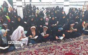 برگزاری دعای ندبه دانش آموزی و فرهنگیان ناحیه یک یزددر امامزادگان سید الصحرا