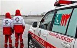 استقرار نیروهای هلال احمردر راههای مواصلاتی استان یزد