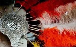 عزاداری هیاتهای مذهبی مهریز به یاد شهید سلیمانی