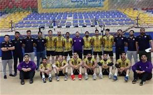 تیم هندبال بوشهر در مسابقات لیگ یک کشور مغلوب تیم نفت امیدیه شد
