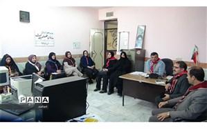 برگزاری جلسه هم اندیشی مدرسان اداره دانش آموزی درشیروان