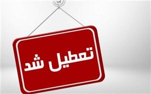 مدارس برخی از مناطق استان یزد تعطیل شد