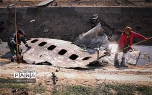 بر اثر بروز خطای انسانی هواپیمای اوکراینی مورد اصابت قرار گرفت