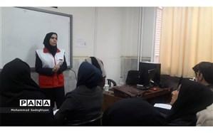 برگزاری دوره آموزشی اصول ایمنی و کمکهای اولیه در منطقه 19