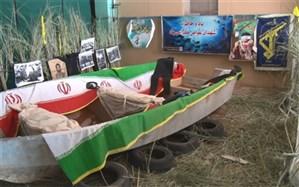 نمایش بازسازی عملیات های دفاع مقدس  در بوشهر