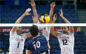 انتخابی والیبال المپیک؛ والیبال ایران به یک قدمی المپیک رسید