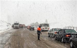 آخرین وضعیت یزد در جریان بارش سنگین برف