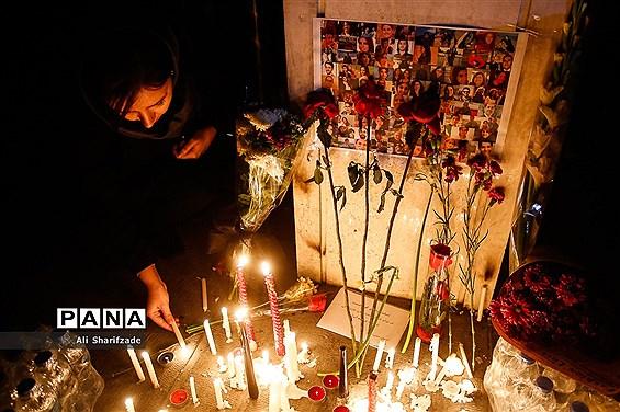 همدردی دانشجویان با خانواده جانباختگان هواپیمای اوکراینی