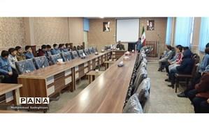 برگزاری مسابقات اذان دانش آموزی منطقه19