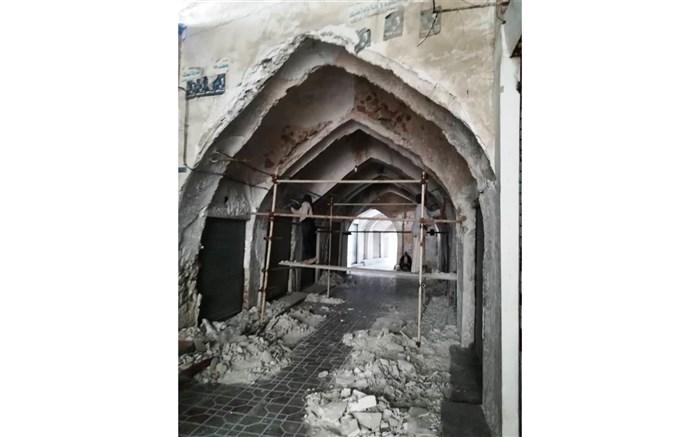 بازار تاریخی مرمت
