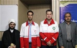 نخل بند سرپرست جمعیت هلال احمر شهرستان یزد شد