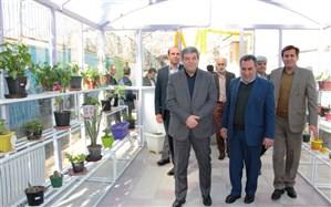 افتتاح گلخانه در دبیرستان مهارتهای حرفهای دانش آموزان کمتوان ذهنی  در شیراز