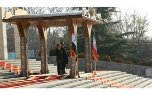 ورود نخست وزیر سوریه به ایران