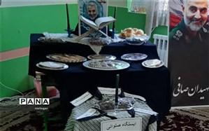 برپایی ایستگاه صلواتی در دبستان شهیدان صافی ابرکوه