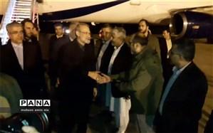 رئیس مجلس وارد فرودگاه کنارک شد