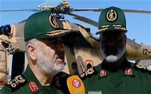 فرمانده کل سپاه در چابهار: تمام امکانات سپاه به مناطق سیل زده می آید