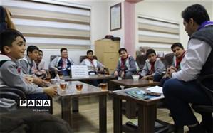 برگزاری دومین جلسه شورای گروه پیشتازان دبستان شهید مرحمتی