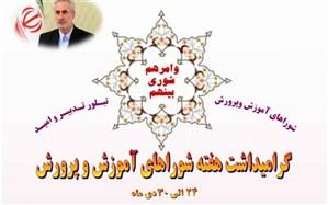 پیام استاندار آذربایجان شرقی به مناسبت سالروز تصویب قانون تشکیل شوراهای آموزش و پرورش